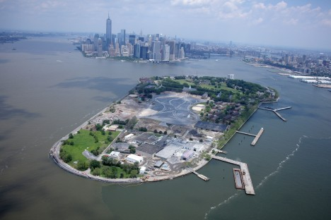 Governors Island Aerial: July 2013