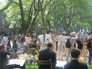 Michael Arenella and the Dreamland Orchestra bring the 1920's back to Governors Island!