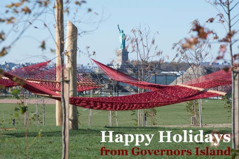 Happy Holidays from Governors Island
