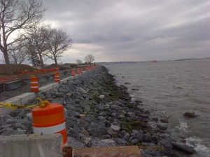 22+50 facing south REVETMENT 100%