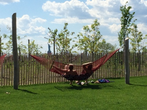 Laying in a hammock is one of the great pleasures of life. Image courtesy of West8.