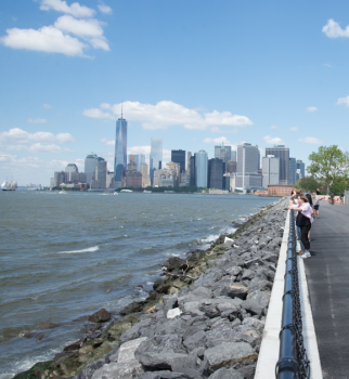 Lower Manhattan and the Harbor from Governors Island